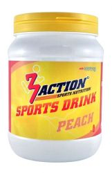 3ACTION SPORTS DRINK PEACH 0,5 KG