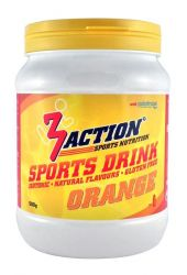 3ACTION SPORTS DRINK ORANGE 0,5 KG