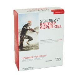 SQUEEZY ENERGY SUPER GEL COLA 12X33 gr