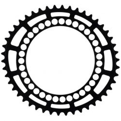 ROTOR Q CHAINRINGS 46- 130 BCD CYCLOCROSS