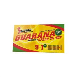 3ACTION GUARANA 9 x 25 ML + 1 GRATIS