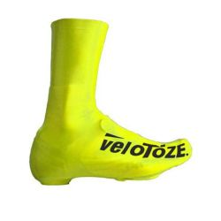VELOTOZE SHOE-COVER LONG HI-VISIBILITY GEEL