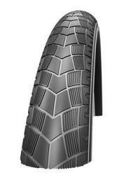 SCHWALBE BIG APPLE 26X2.00 ZWART REFL