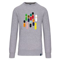 THE BULLET ABSTRACT PELOTON SWEATER