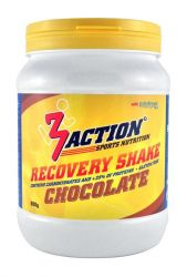 3ACTION RECOVERY SHAKE CHOCOLADE 500 GR