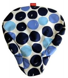 NEW LOOXS DOTS SADDLE COVER BLUE